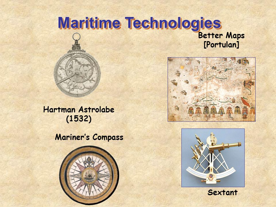 Maritime Technologies Better Maps [Portulan]